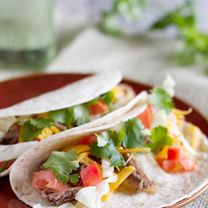 Slow Cooker Mexican Pork Roast Tacos Recipe
