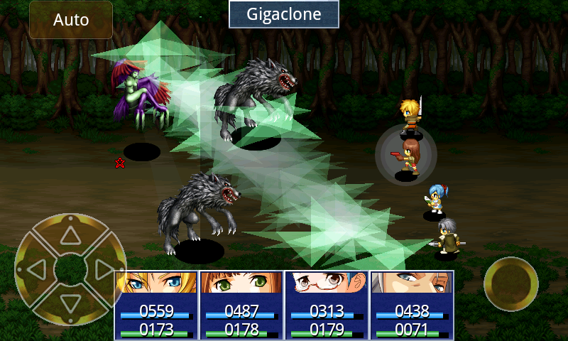 RPG Eve of the Genesis HD- screenshot