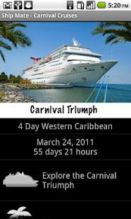 Ship Mate Carnival Cruise Line - screenshot thumbnail