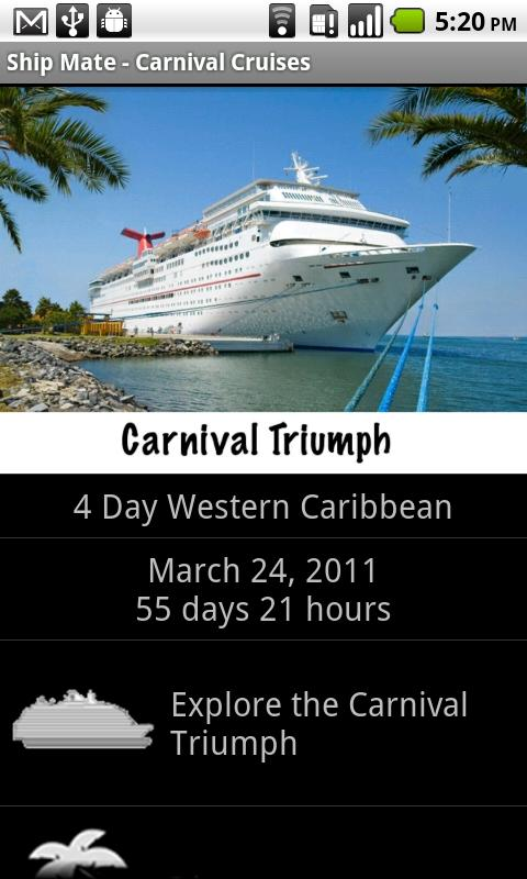 Ship Mate Carnival Cruise Line - screenshot