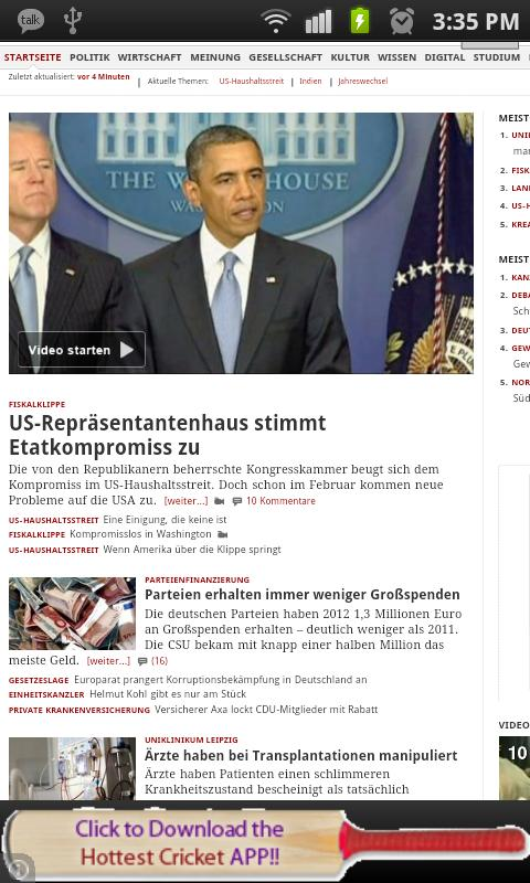 All Newspapers of Germany-Free - screenshot