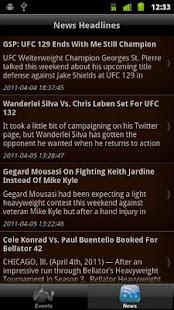 iTrack MMA - screenshot thumbnail