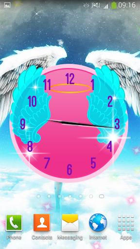 天使 時鐘 小工具