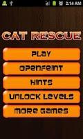Screenshot of Cat Rescue PRO