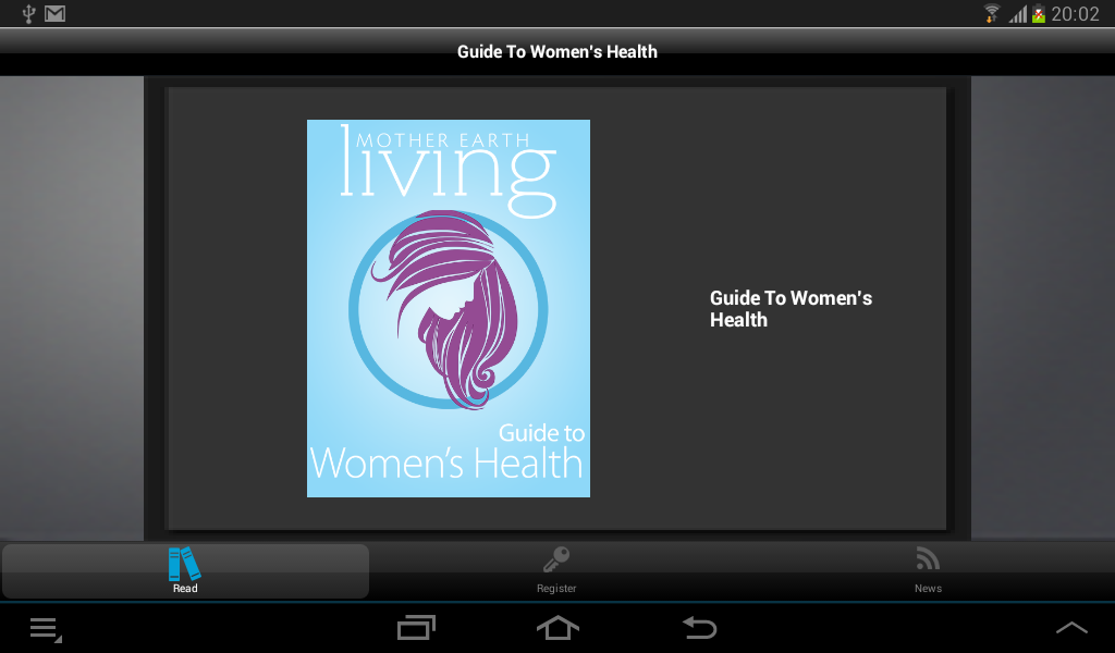 Guide To Women's Health - screenshot