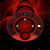 Red Flame GO Locker theme