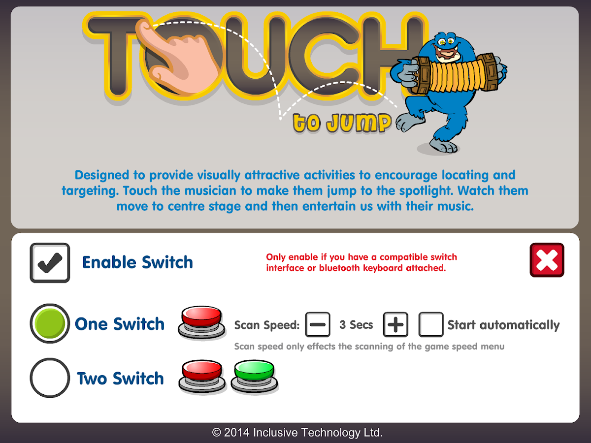 Touch to Jump- screenshot