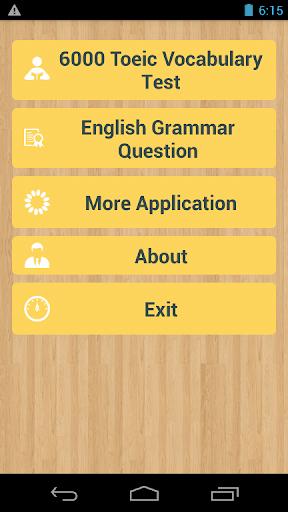 Toeic Test - 6000 Vocabulary