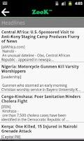 Screenshot of Zook - African News & Media