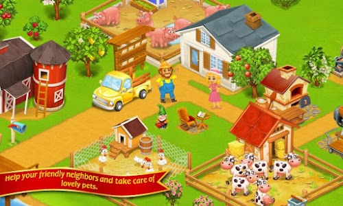Farm Town:Happy City Day Story v1.85 (Mod Money)