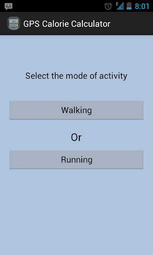 GPS Calorie-Calculator