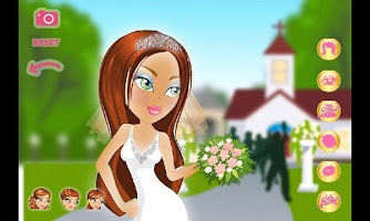 Screenshot of Dress Up! Wedding