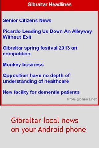 Gibraltar News