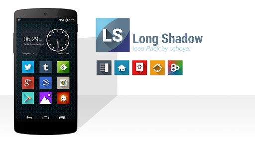 Long Shadow Icon Pack [NoMask]