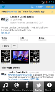 London Greek Radio 103.3FM- screenshot thumbnail