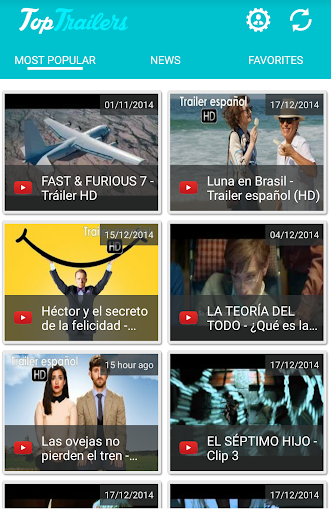 Top Trailers: movies cinema