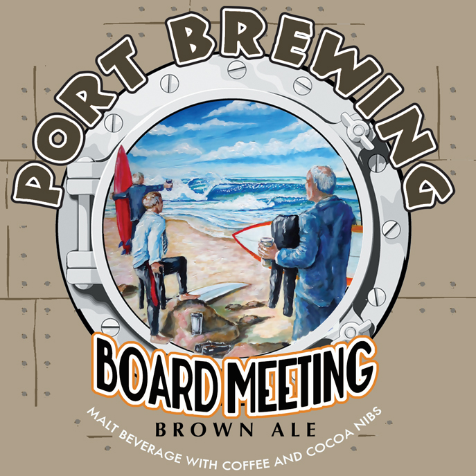 Logo of Port Board Meeting Brown Ale