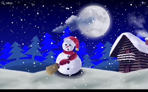 【免費個人化App】Christmas Snowman - Wallpaper-APP點子