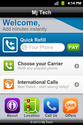 Prepaid Cell Phone Payment