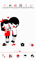 Screenshot of Couple dodol launcher theme
