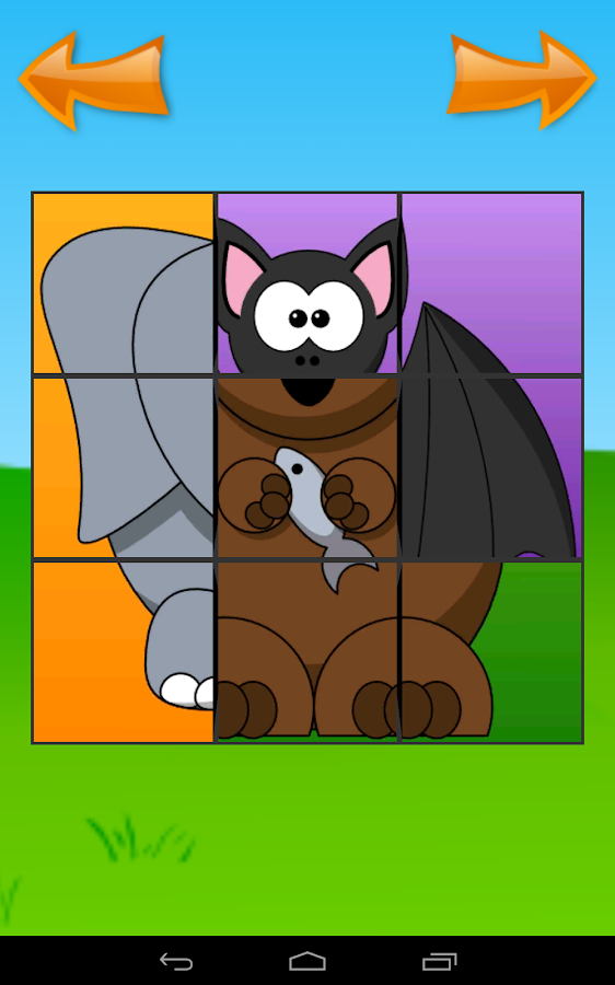 MyBaby: My puzzle for kids- screenshot