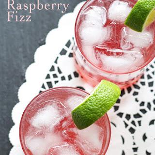 Gin Raspberry Fizz.
