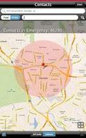 Screenshot of Everbridge Mobile Aware
