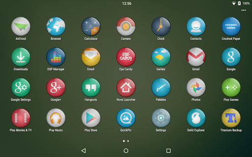 【免費個人化App】Eye Candy Multilauncher Theme-APP點子