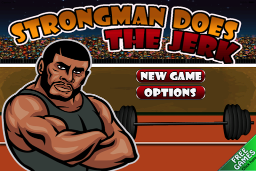 Strongman Does the Jerk Free