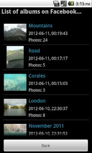 Globus Photo Album- screenshot thumbnail