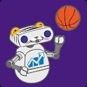 LSU Football & Basketball logo