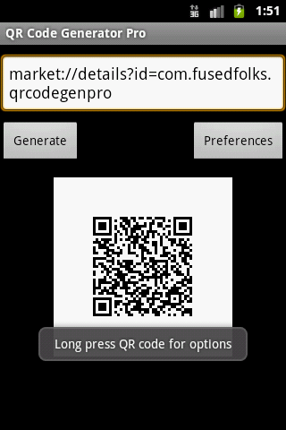 QR Code Generator Pro- screenshot
