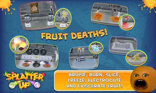 Annoying Orange: Splatter Up! - screenshot thumbnail