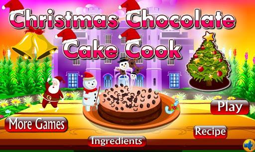 Christmas Chocolate Cake Cook