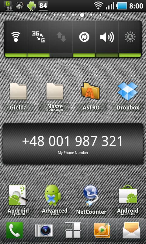 My Phone Number - screenshot