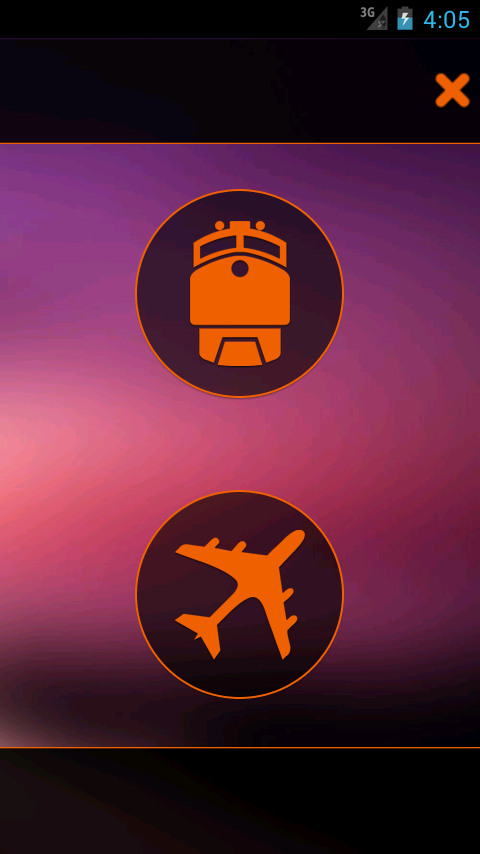 Train+Flight Informer - screenshot