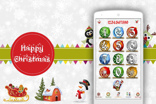 Christmas Caller Screen Dialer