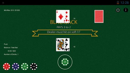 Simple Blackjack Trainer