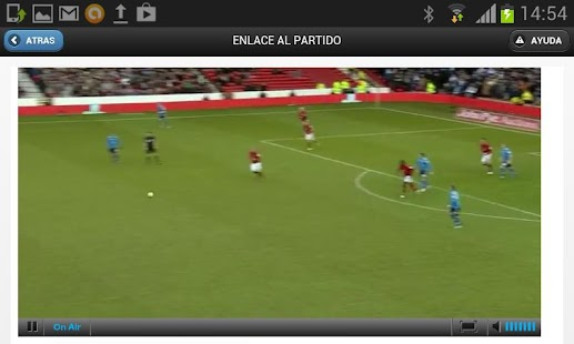 Rojadirecta Watch Football - screenshot thumbnail
