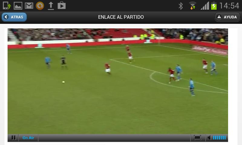 Rojadirecta Watch Football - screenshot