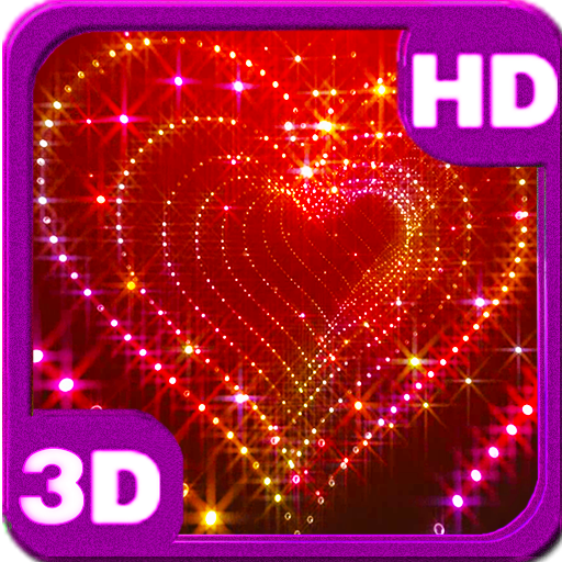 Sparkle Glitter Heart Tunnel app (apk) free download for Android/PC/Windows