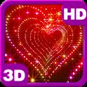 Sparkle Glitter Heart Tunnel icon