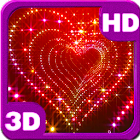 Sparkle Glitter Heart Tunnel icon