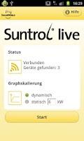 Screenshot of Suntrol live