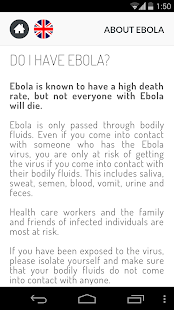 About Ebola- screenshot thumbnail