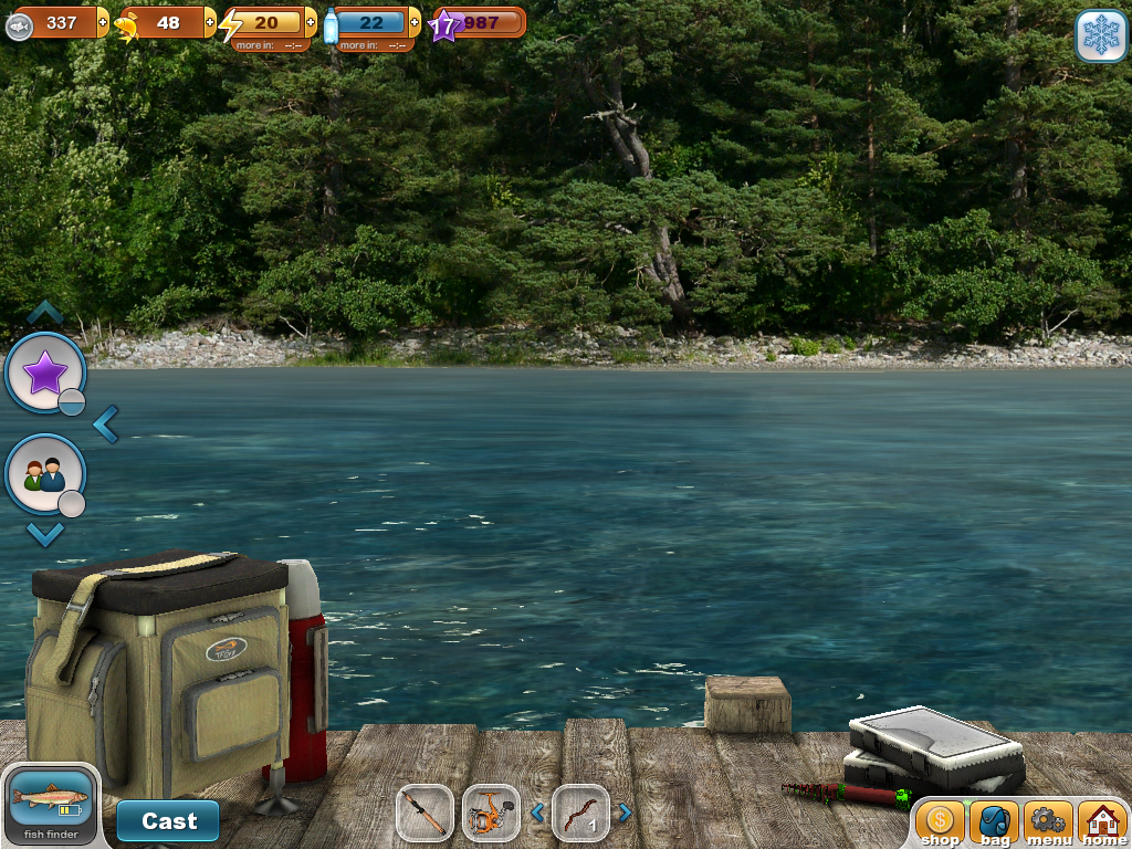 Fishing paradise 3d free android apps on google play for Free online fishing games