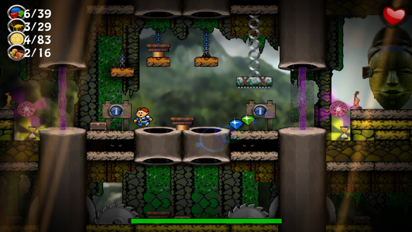 Canyon Capers- screenshot