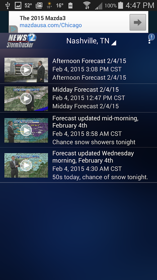 WKRN WX - Nashville weather - screenshot