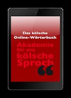 Screenshot of Das Kölsche Online-Wörterbuch