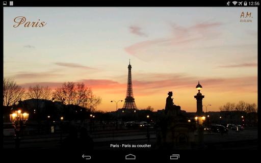 Météo Paris Appar (APK) gratis nedladdning för Android/PC/Windows screenshot